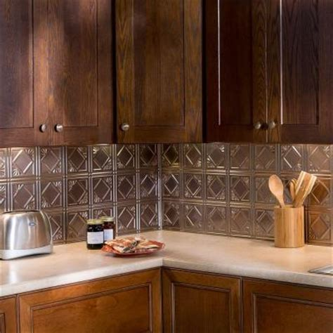 thermoplastic panels kitchen backsplash fasade 24 in x 18 in traditional 4 pvc decorative