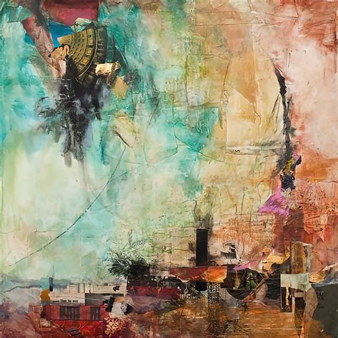 jennifer perlmutter thought provoking abstract mixed