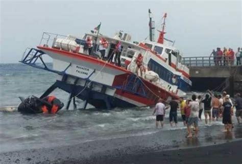 sinking boat robben island italian ferry masaccio with 117 passengers sank at
