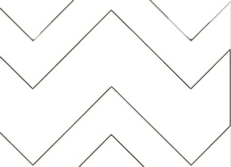7 best images of large printable chevron pattern stencil