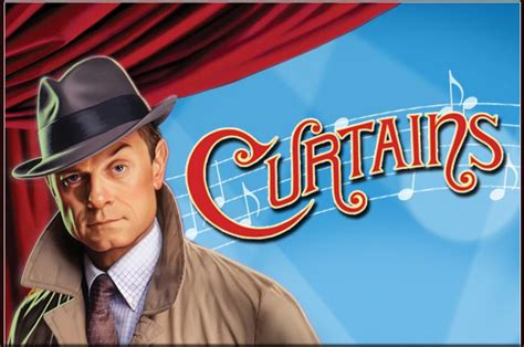 curtains broadway curtains the musical comedy whodunit starring david hyde