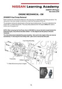 Zd30 Fuel System 95 Pathfinder Fuel Filter 95 Get Free Image About Wiring