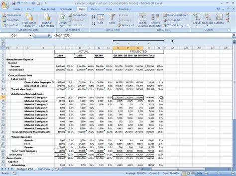 excel template for financial projections how to build a basic financial projection business