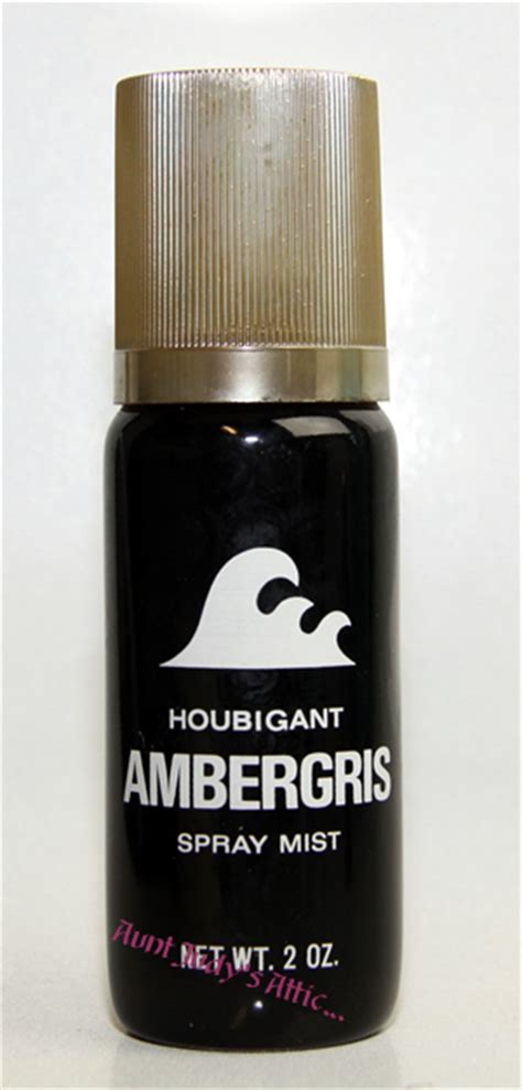 Parfum Ambergris vintage ambergris perfume by houbigant