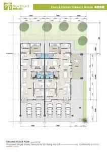 Single Storey Semi Detached House Floor Plan by Semi Detached House Design Plans Trend Home Design And Decor