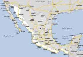 map of western mexico the west coast of mexico drive mexico