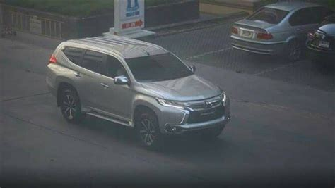 mitsubishi new this is mitsubishi s new 2016 pajero sport carscoops