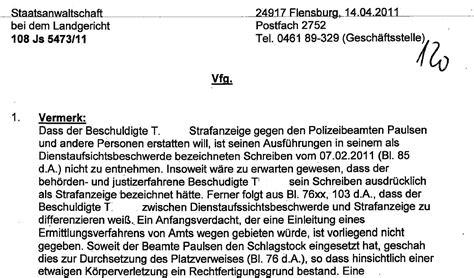 Vermerk Schreiben Verwaltung Muster Polizei Doku Sl 7 Die Persilschein Staatsanwaltschaft Krieg Nirgendwo