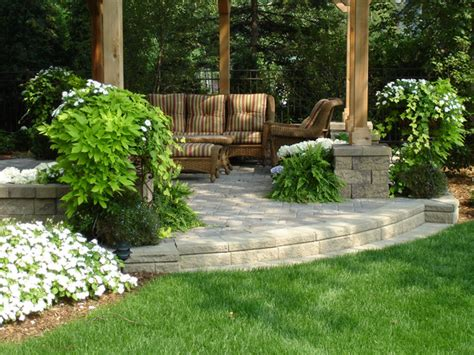 Raised Garden Patio Outdoor Raised Patios And Landings Landscape Other