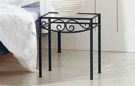 wrought iron bedside table fantastically wrought iron bedroom furniture