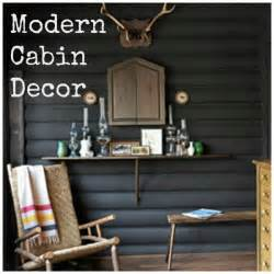 modern cabin decor home decorating blog community ls plus