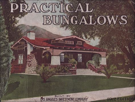 california bungalows los angeles investment company