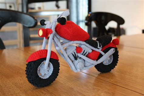 amigurumi motorcycle pattern presenting the world s safest motorcycle knithacker