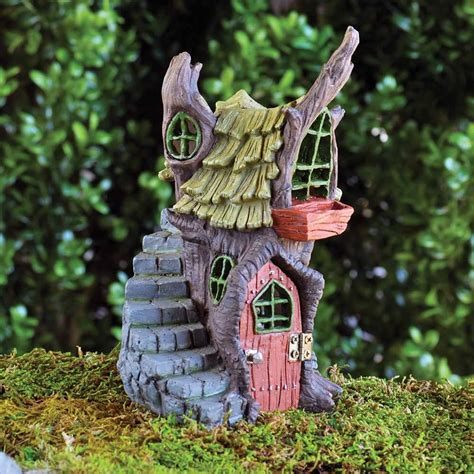miniature gardening com cottages c 2 miniature gardening com cottages c 2 fiddlehead stump cottage fairy house fairygoodies