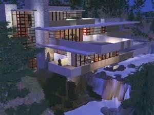 Cool House Blueprints fallingwater