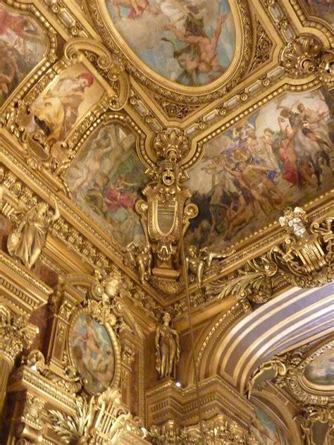 gallerie opera garnier paris baroque architecture
