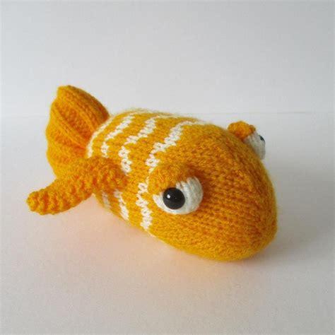 pattern fish youtube george the goldfish knitting pattern by amanda berry