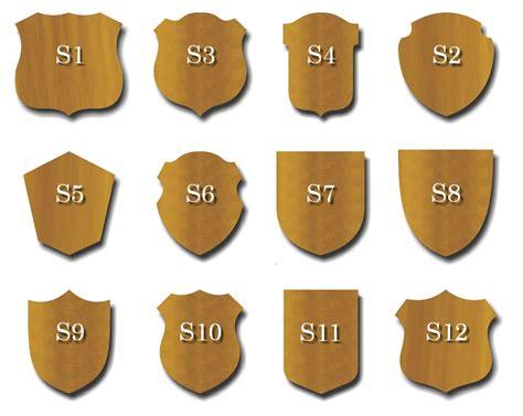 plaque template laser engraved unit plaque template technology