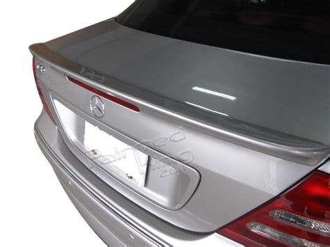 Trunk Spoiler Ducktail Mercedes W203 Taiwan pkuk mercedes w203 sedan boot trunk spoiler a type