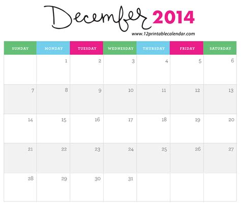 december 2014 calendar template 8 best images of monthly calendar printable