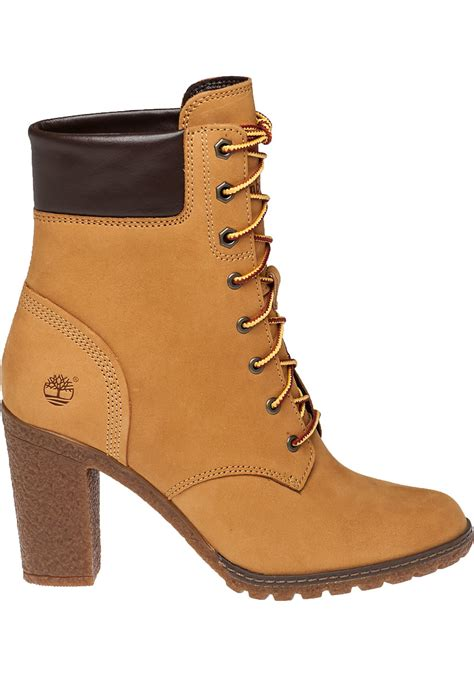 timberland glancy suede ankle boots in lyst