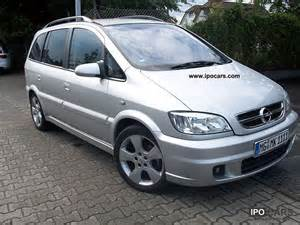 Opel Zafira 2004 2004 Opel Zafira 2 2 Edition Car Photo And Specs
