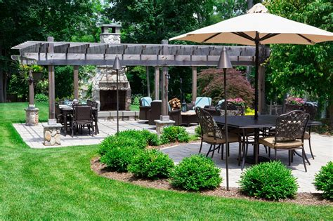 perfect backyard the perfect backyard for a memorial day barbecue horizon landscaping company