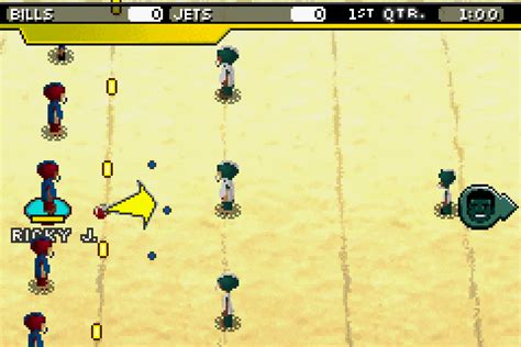 backyard football gba backyard football 2007 screenshots gamefabrique