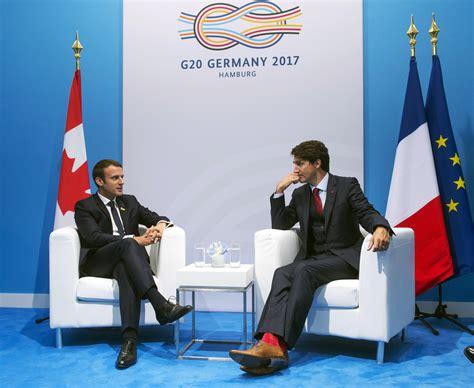 emmanuel macron socks justin trudeau did something a bit extra at the g20 summit