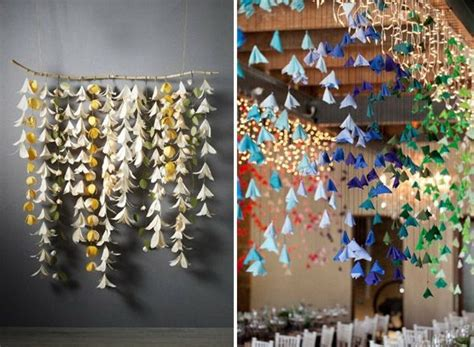 How To Make Hanging Tissue Paper Flowers - best 25 hanging paper flowers ideas on