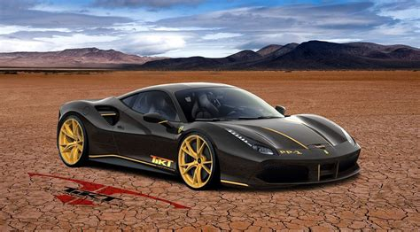 Ferrari 488 Gtb Rendered With Custom Wheels Gtspirit