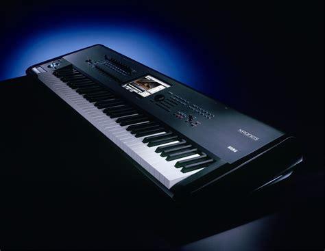 Keyboard Korg korg kronos73 73 weighted key workstation pssl