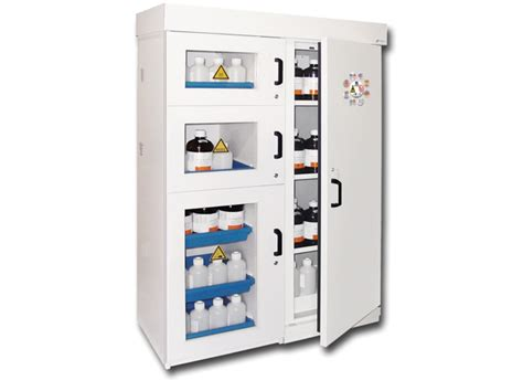 protected gas cylinder safety cabinets for