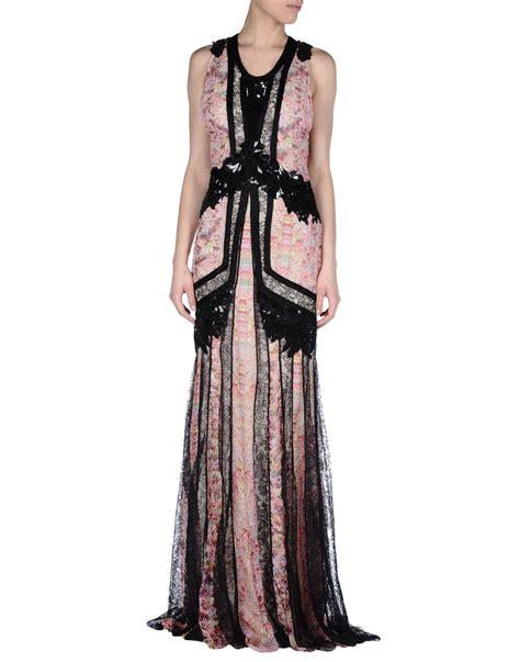 Cavali Dress roberto cavalli dress in pink lyst