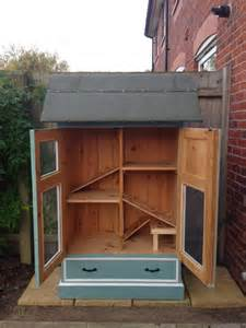 make a rabbit hutch 10 diy rabbit hutches from upcycled furniture home
