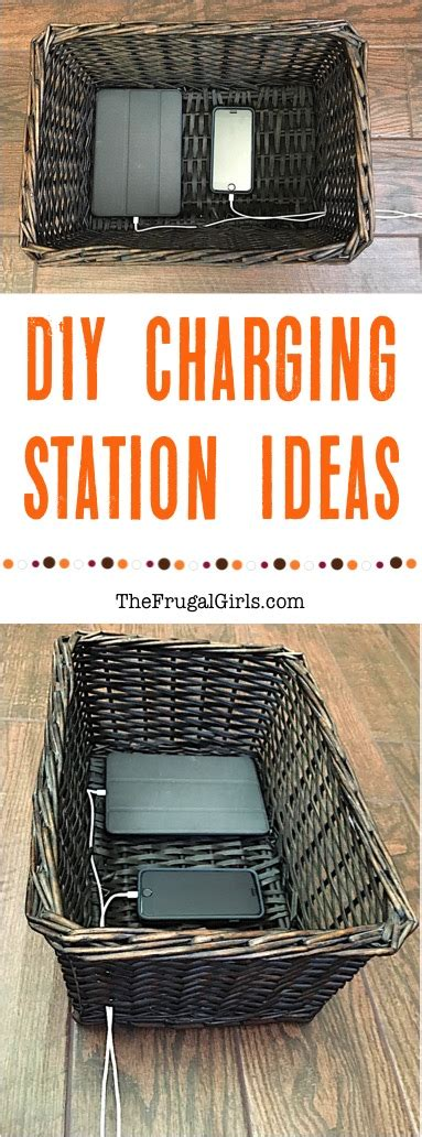 diy charging station ideas smarter ways to charge your phone and tablet the frugal
