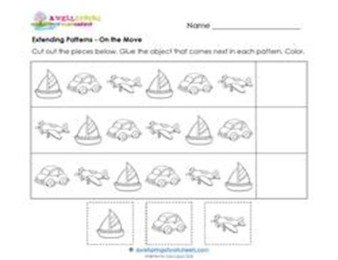 extend patterns worksheets for kindergarten extending patterns worksheet kindergarten mrs pritchett
