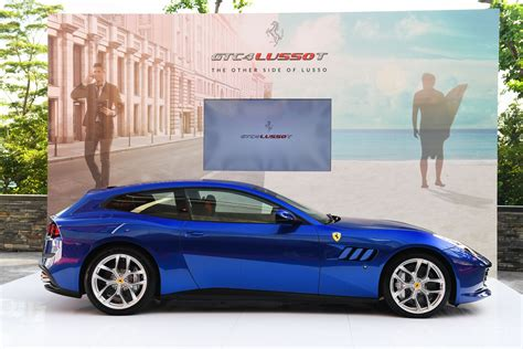 Ferrari Gtc4 Lusso T by Ferrari Gtc4 Lusso T Hits Singapore On Post Paris World Tour