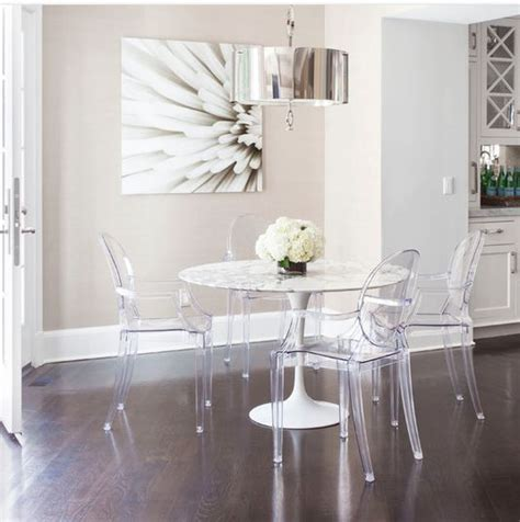Dining Table With Ghost Chairs Best 25 Ghost Chairs Ideas On Ghost Chairs Dining Clear Chairs And Lucite Chairs