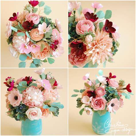 best 25 paper flower centerpieces ideas on