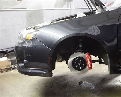 front and rear brake kits subaru wrx 2008 14 brakes