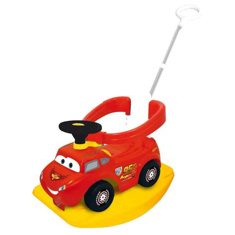 Trolly 6d 4in1 The Cars 1 Kiddieland Cars 4 In 1 Activity Ride On Racer 502522