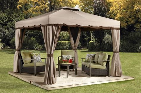gazebo roma roma gaz 233 bos 224 toit souple collections sojag