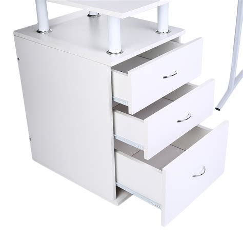 white corner desk with drawers white corner desk with drawers white corner desk white