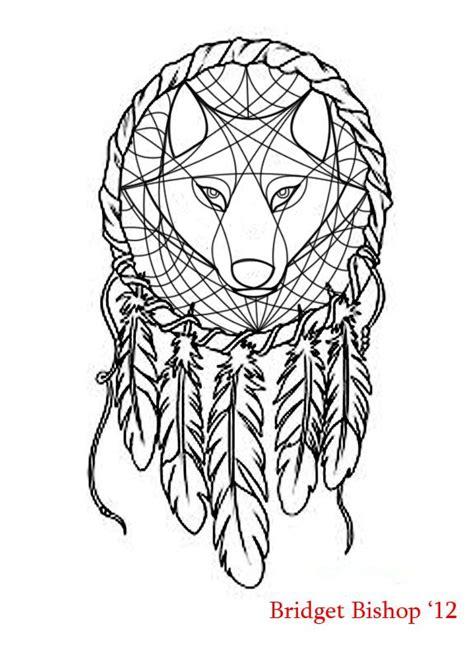 25 best ideas about wolf dreamcatcher tattoo on pinterest