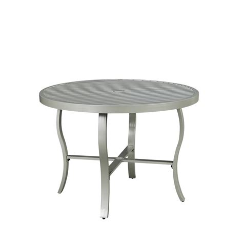Aluminum Patio Dining Table Home Styles Harbor 51 In Slate Tile Top Patio Dining Table 5601 36 The Home Depot