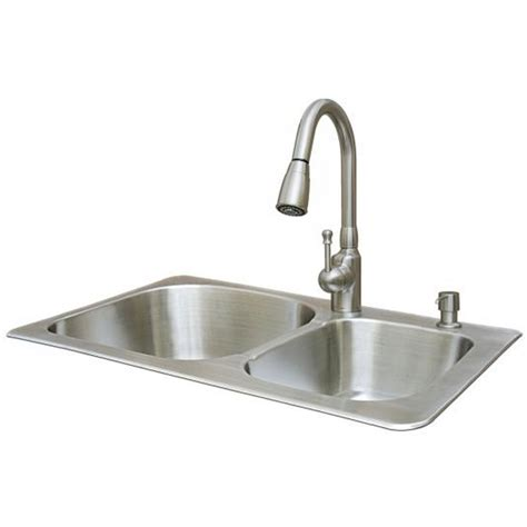 kitchen sink and faucet combinations kitchen sink and faucet combo thedailygraff com