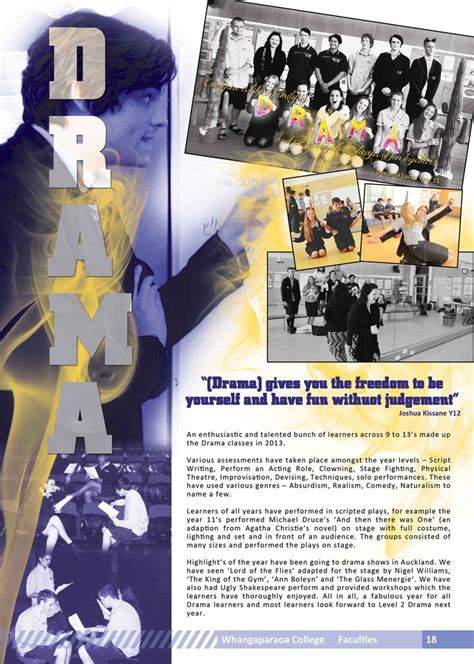 yearbook layout design rules yearbook page drama yearbook design inspiration