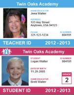 printable teacher id cards free homeschool id card for teachers and students