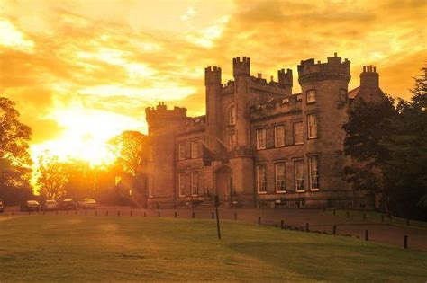 sunrise at airth castle and spa picture of airth castle